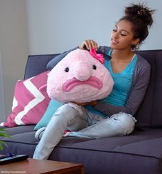 Blobfish toy out of stock now - but apparently you could own your very own blobfish