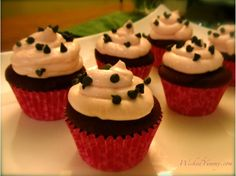 Wicked Yummy: Light Red Velvet Cupcakes with Whipped Cheesecake Frosting