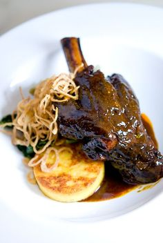 lamb-shank...love braised meats, love lamb the most.