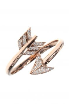 #arrow I rose gold diamond #ring I designed for NEW ONE I NEWONE-SHOP.COM