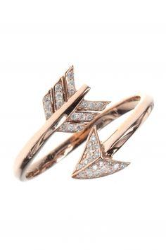 #arrow I rose gold diamond #ring I designed for NEW ONE I NEWONE-SHOP.COM