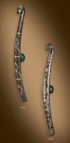 Warring states to Han dynasty belt hooks.