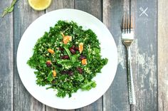 Kale Quinoa Salad wi