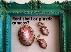 Is a cameo real shell or only plastic?