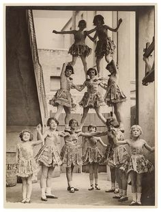 All sizes | Child performers, Sydney Showground, c. 1920s-30s / by Sam Hood | Flickr - Photo Sharing!