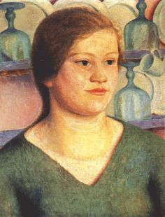 "Dora Carrington ""Annie Stiles"" 1921  Dora Carrington was supremely talented but doomed for a tragic ending."