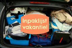 Inpaklijst vakantie - Nóóit meer iets vergeten! - Mariekevanwoesik.nl