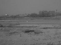 """li pataras ad mars - da noi li chiamano """"pataras"""" e sono tipici del mese di marzo. Sembra neve ma è bagnata e proprio per questo viene giù fitta ma attacca poco e crea soprattutto pozzanghere... Questa mattina era così al mio risveglio e ne ho subito approfittato."""