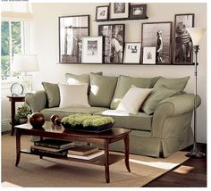 Above couch decor modern living room decorating ideas for apartments unique wall pictures impressive family mirror . above couch decor My Living Room, Home And Living, Living Room Decor Green Couch, Living Room Wall Decor Ideas Above Couch, Living Area, Small Living, Barn Living, Cozy Living, Modern Living