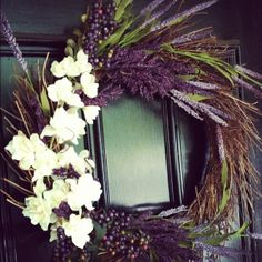 dyi wreaths   DIY Wreath ;)   Wreaths