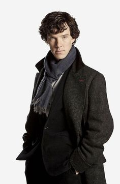 fictional character, Sherlock Holmes (played by Benedict Cumberbatch)