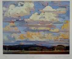 Group Of Seven Ltd Art Print - Summer Clouds - TOM THOMSON | eBay $29.99