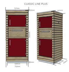 Mypaketkasten.de Drop Box Ideas, General Goods, Shelving Design, You've Got Mail, Post Box, Hidden Storage, House Numbers, Letter Boxes, Mailbox Ideas