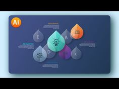 Adobe illustrator Tutorial   Modern Design Glass Infographic - YouTube Flat Design, Modern Design, Vector Design, Graphic Design, Responsive Grid, Adobe Illustrator Tutorials, Affinity Designer, Photoshop Photos, Blogger Templates