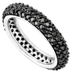 Small CZ Bling Band Ring LIMITED QUANTITY AVAILABLE