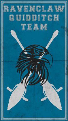 Quidditch Team Poster: Ravenclaw by TheLadyAvatar.deviantart.com on @DeviantArt