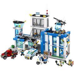 Lego City Police Station Building Set, Multicolor