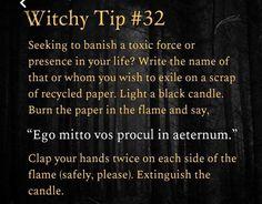 Witch Spell Book, Witchcraft Spell Books, Hoodoo Spells, Magick Spells, Wiccan Magic, Wiccan Witch, Latin Spells, Banishing Spell, Easy Spells