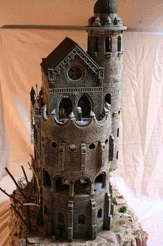 Vampire Castle. Build with Hirst arts bricks