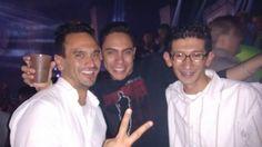 Con Licard y Yohann