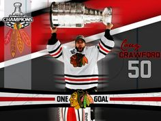 Corey Crawford 2013... Stanley Cup champ from Chats.... Congrats Corey... Well deserved!!!