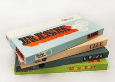Board Games - Retro Style