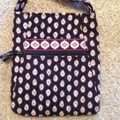 Vera Bradley Cross Body Handbag BOGO Single adjustable strap, 2 front pockets, 2 inside pockets, zipper closure, excellent condition. Approx 12 in by 10 in Vera Bradley Bags Crossbody Bags
