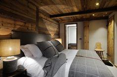 Chalet The Ecurie, Ski St Martin de Belleville, France, Ultimate Luxury Chalets Chalet Design, Chalet Style, Bar Design, Ski Chalet, Chalet Interior, Interior Design, Location Chalet, Beautiful Bedrooms, Log Homes