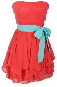 Style, Decor and More!: Crazy for Coral Dresses! http://stylendecordeals.blogspot.com/2013/05/crazy-for-coral-dresses.html