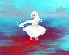Dye it RED by DeviantART artist Kaytseki