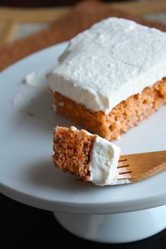 Tres Leches Cake with Thai Tea from She Simmers - Two of my favorite sweat things combined!