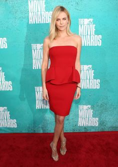 Charlize Theron (in Lanvin Fall 2012) at the MTV Movie Awards, June 3rd