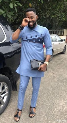 African Wear Styles For Men, African Shirts For Men, African Dresses Men, African Attire For Men, African Clothing For Men, Nigerian Men Fashion, African Print Fashion, Wedding Suit Styles, Kaftan