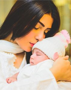 Cute Baby Couple, Cute Babies, Mom Daughter, Mother Daughters, Ayeza Khan, Life Journal, Pakistani Actress, Hollywood Celebrities, Girl Crushes