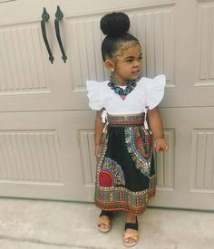 THE ANKARA STYLES YOUR BABY GIRL WOULD FALL FOR