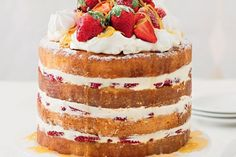 The new make-over is the make-under! Naked cakes are perfect for beginner bakers as you don't have to worry about the icing being perfect. Sometimes less really is more.