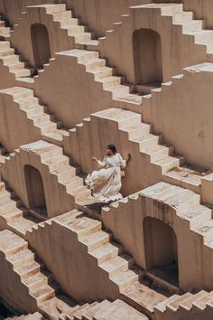 India is a visual delight! Whenever I visit somewhere so beautiful I almost get anxiety about capturing it all. The stepwells here are a… Jaipur Travel, India Travel, World Clipart, Indian Architecture, Wanderlust, Exploration, Cities, Incredible India, Travel Around The World