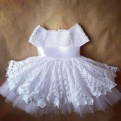 Платье для маленькой принцессы http://vk.com/daisyknits