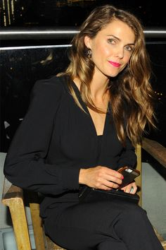 Keri Russell Masters Casual Glamour