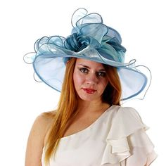 Sweet Tea Organza Derby Hat with Shimmering Bow (Light Blue) Greatlookz http://www.amazon.com/dp/B00IDALNC8/ref=cm_sw_r_pi_dp_r-Fjvb1EGMKKA