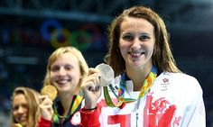 Jazz Carlin clinches silver medal in women's 800m freestyle final