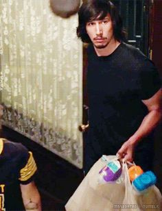 Adam Driver Sackler in every episode of Girls  ↳ 5.09