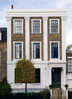Une maison typiquement british - Déco vintage et colorée à Londres - CôtéMaison.fr