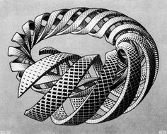 Maurits Cornelis Escher -   Spirals