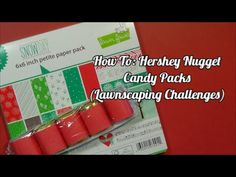 Valentine's Day DIY: Hershey Nugget Candy Packs | Lawnscaping Challenges - YouTube