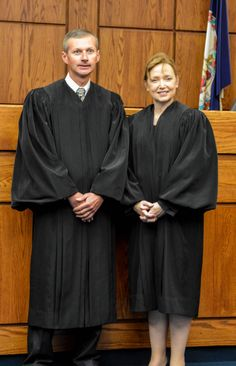 Judges Coleman and Horan Invested to PWC General District Court - The Prince William County Bar Association recently sponsored the investitures of the Honorable Robert P. Coleman and the Honorable Angela Lemmon Horan to the General District Court for the Thirty-First Judicial District. #pwliving