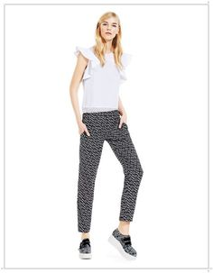 Spring Summer 2013 Womens Clothing [PHOTOS] Spring Summer 2013 Clothing pants with geometric print