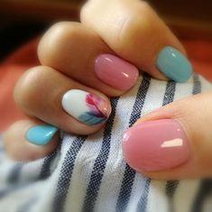 Nails, short nail designs, nail designs spring, shellac nails, nail m Shellac Nails, Diy Nails, Cute Nails, Pretty Nails, Acrylic Nails, Nail Polish, Coffin Nails, Gorgeous Nails, Fall Nail Art Designs