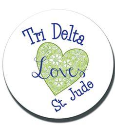 Delta Shop - Heart St. Jude Sticker