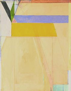 Richard Diebenkorn - Ocean Park No. 38 1971 Oil on canvas 100 3/16 x 81 in.
